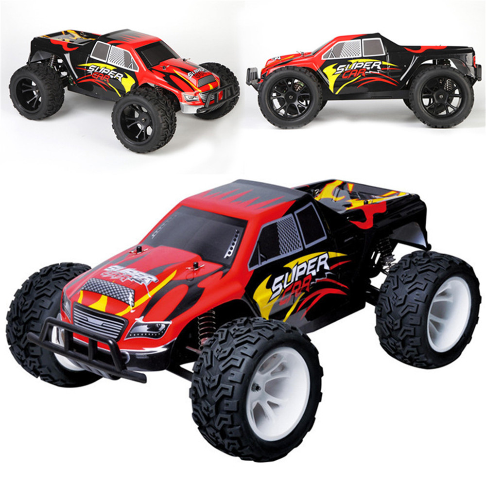 Wltoys L313 1/10 2.4G 2WD 50km/h Racing Rc Car 550 Brushed Big Foot Vehicle RTR Toys