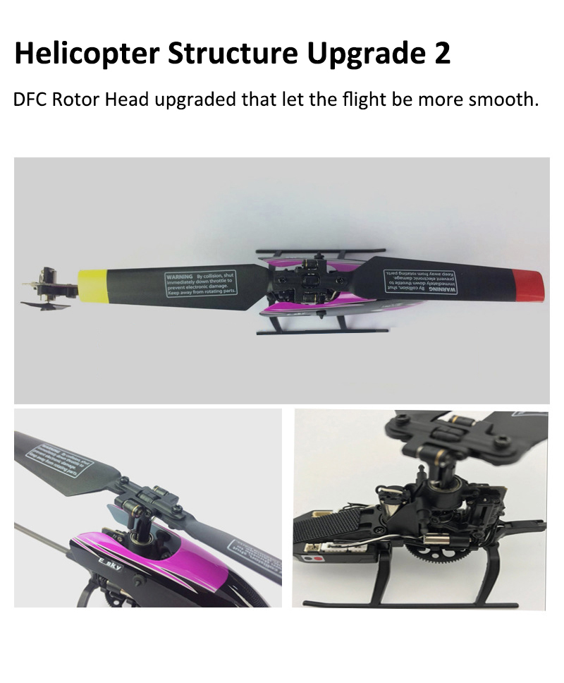 ESKY 150 V2 2.4G 5CH CC3D 6 Axis Gyro RC Helicopter
