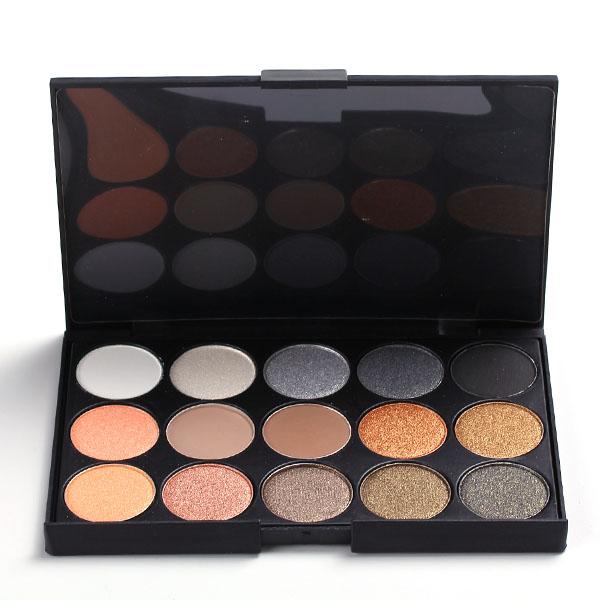 15 Colors Matte Shimmer Eye Shadow Palette