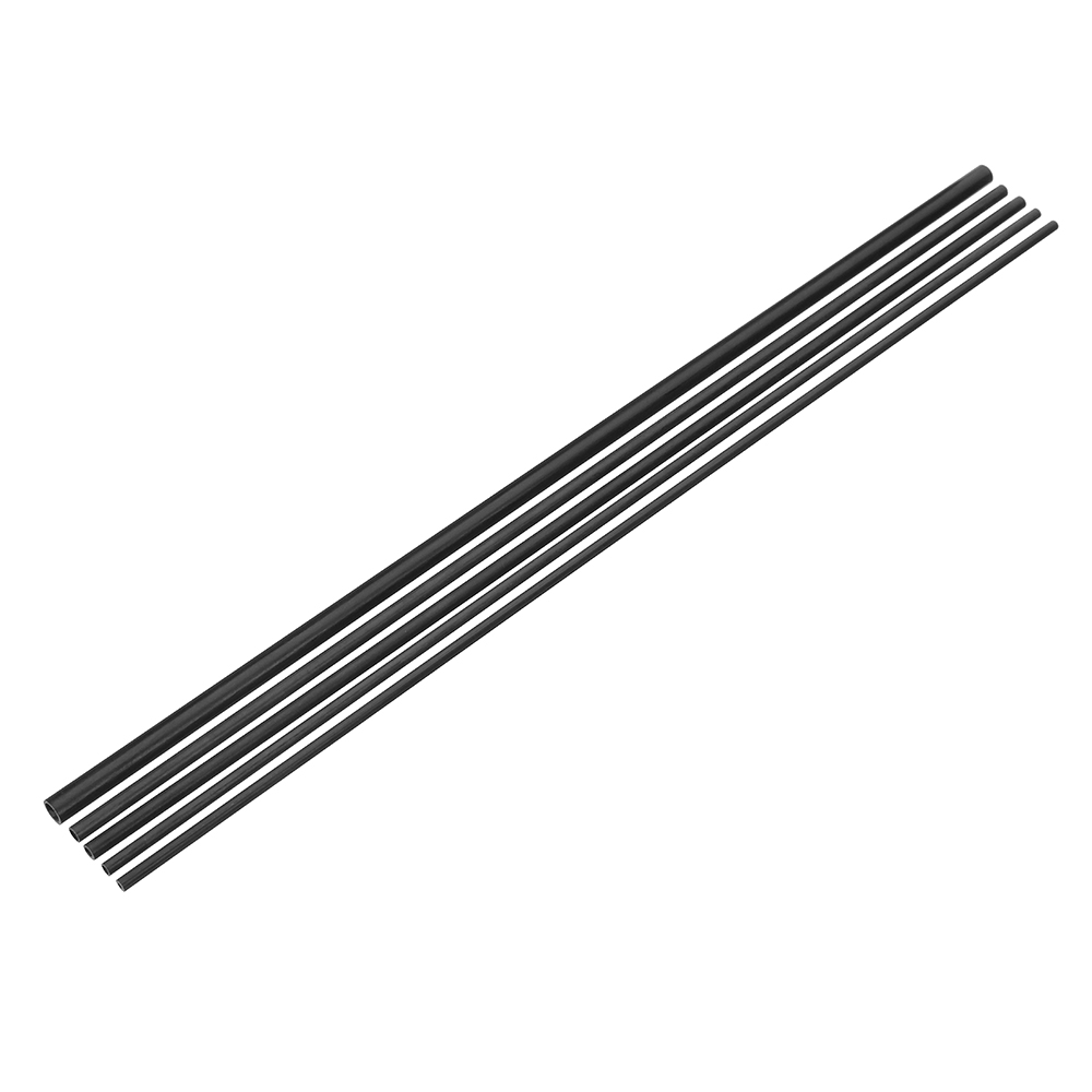 4*2*400/4*3*400/5*3*400/5*4*400/8*6*400mm Carbon Fiber Tube for RC Wing Airplane Frame