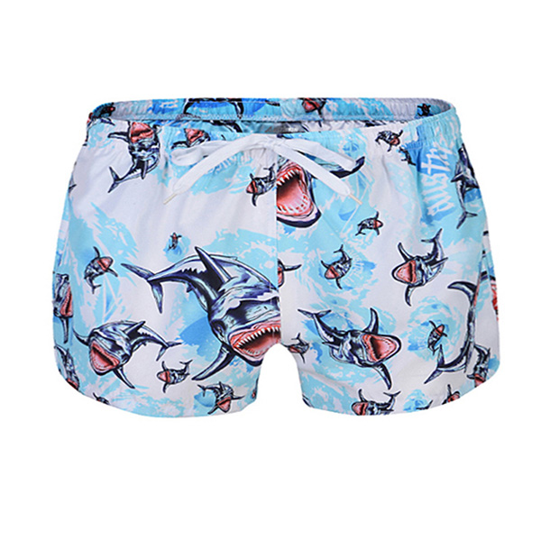 AUSTINBEM Mens Summer Board Shorts Fashion Casual Home Printing Shorts Swimming Beach Shorts