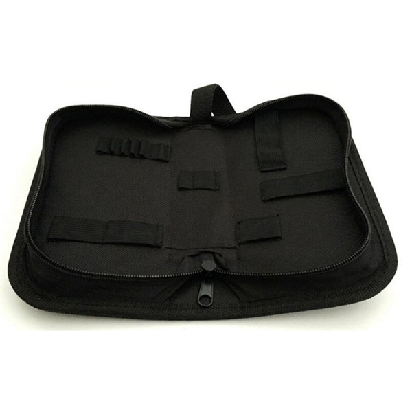 Black Zipper Case Bag Storage Bag For Watch Repair Tool Kit