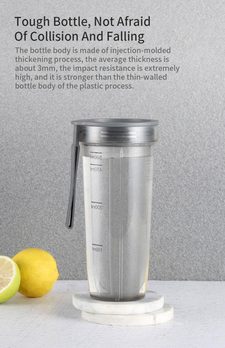 Pinlo Portable Bottle Water Tritan Material Water Bottle From Xiaomi Youpin