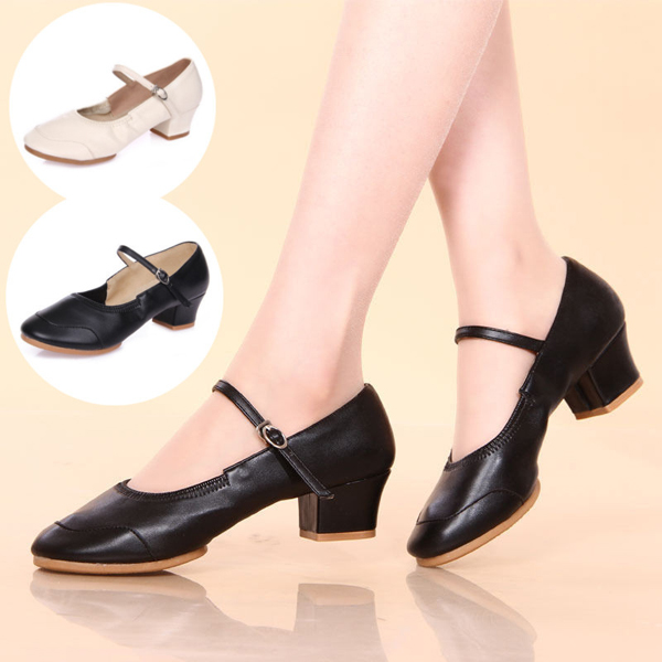 Soft Sole Waltz Ballroom Latin Tango Dance Shoes heeled Sandals