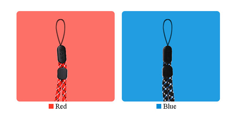 Universal Nylon Braided Lanyard Phone Stripe for Phone Camera U Disk Keys