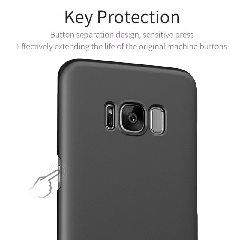 Ultra Thin Silky Anti Fingerprint Hard PC Case For Samsung Galaxy S8 Plus