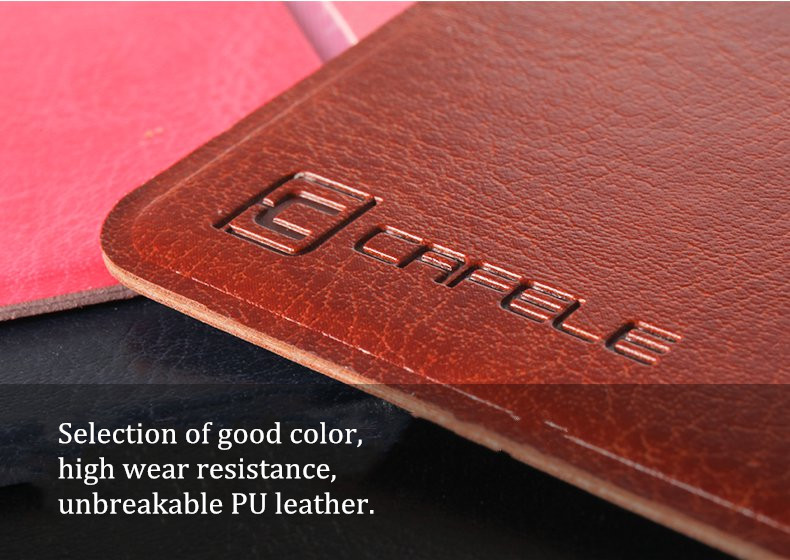 Cafele Universal Card Holder PU Leather Adhesive Phone Back Card Stickers Storage Bag Pouch