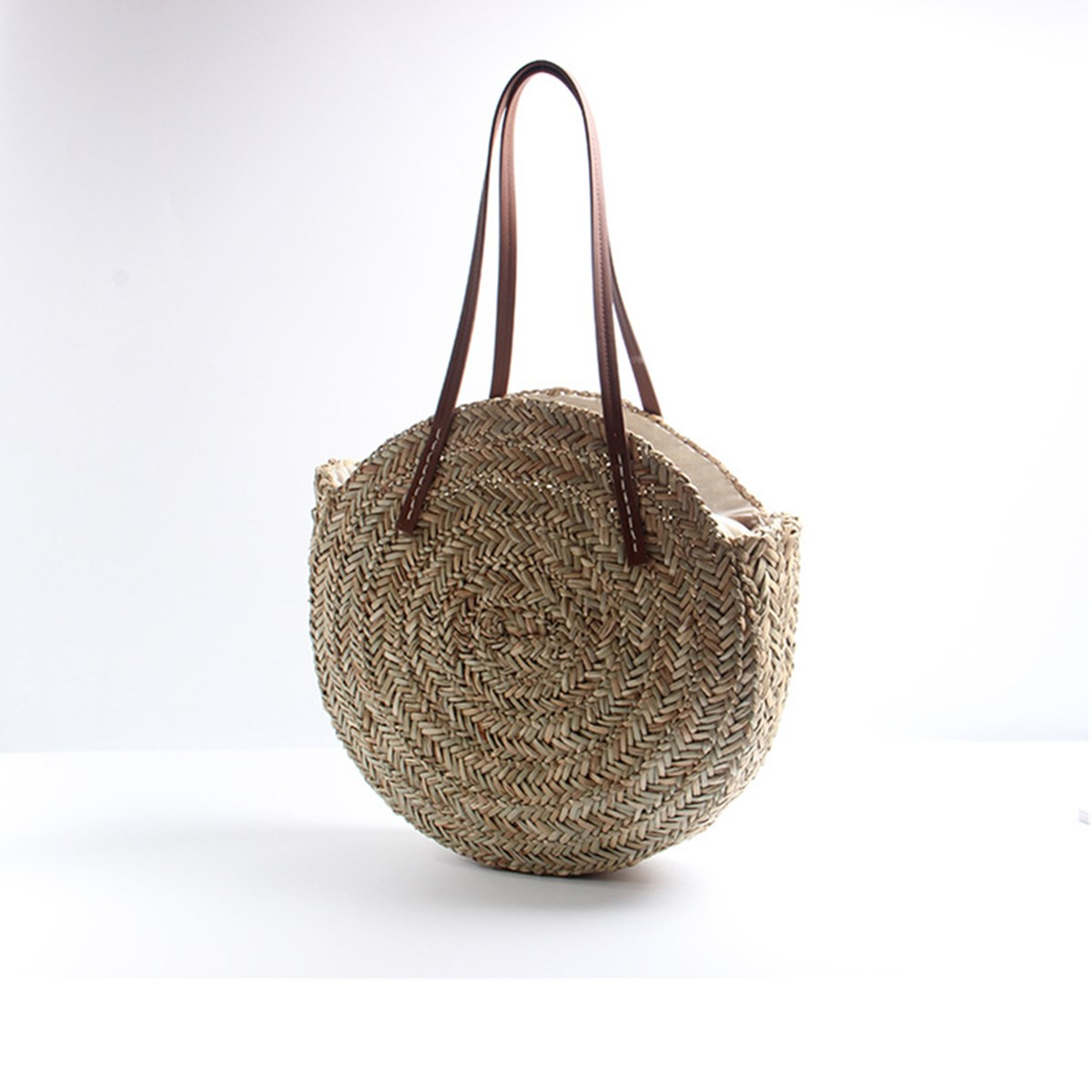Wind Bohemia Beach Circle Bag Straw Bags Beach Bags
