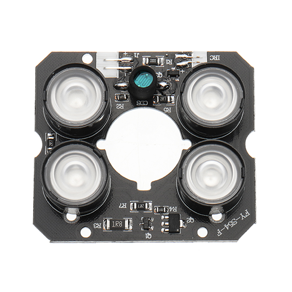 2Pcs 4 Array IR LEDs IR Infrared Illuminator Board for Security Bullet Indoor Outdoor CCTV Camera