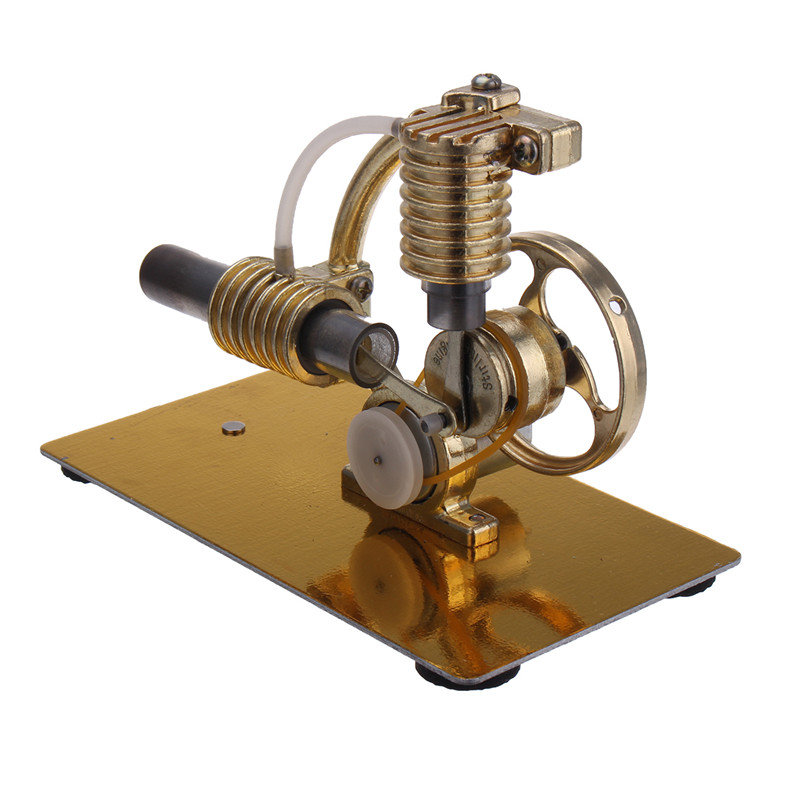 Metal Steam Engine Stirling Engine Model Generator With Bulb Science Toy