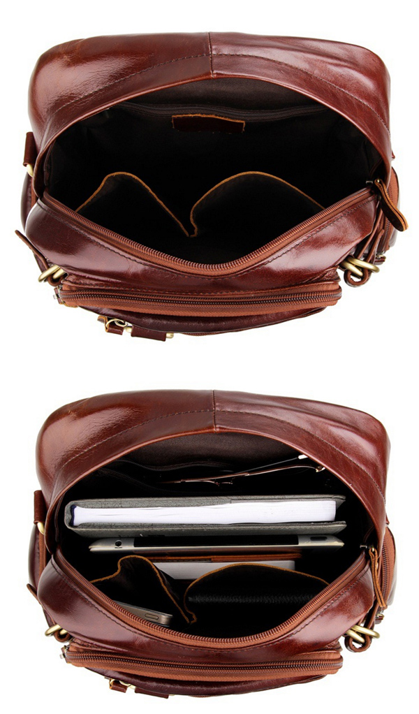 Luxury Fashion Cow Leather Travel Bag