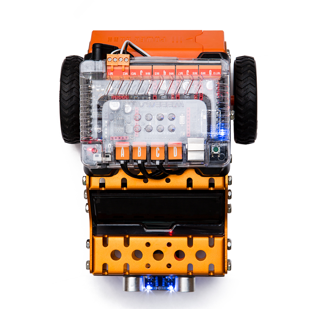 WeeeMake WeeeBot 3 in 1 Smart RC Robot Car STEAM Infrared Obstacle Avoidance Programmable APP bluetooth Control Educational Kit
