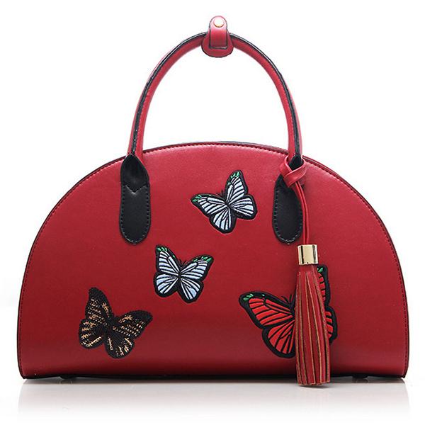 Details: Material PU Leather Color Black, Khaki, Wine Red Weight 850g Length 35cm(13.78'') Height 12cm(4.72'') Width 13cm(5.12'') Pattern Solid Inner Pocket Main Pocket, Zipper Pocket,Phone Pocket,Card Pocket Closure Zipper Package include: 1*Handbag More #handbag