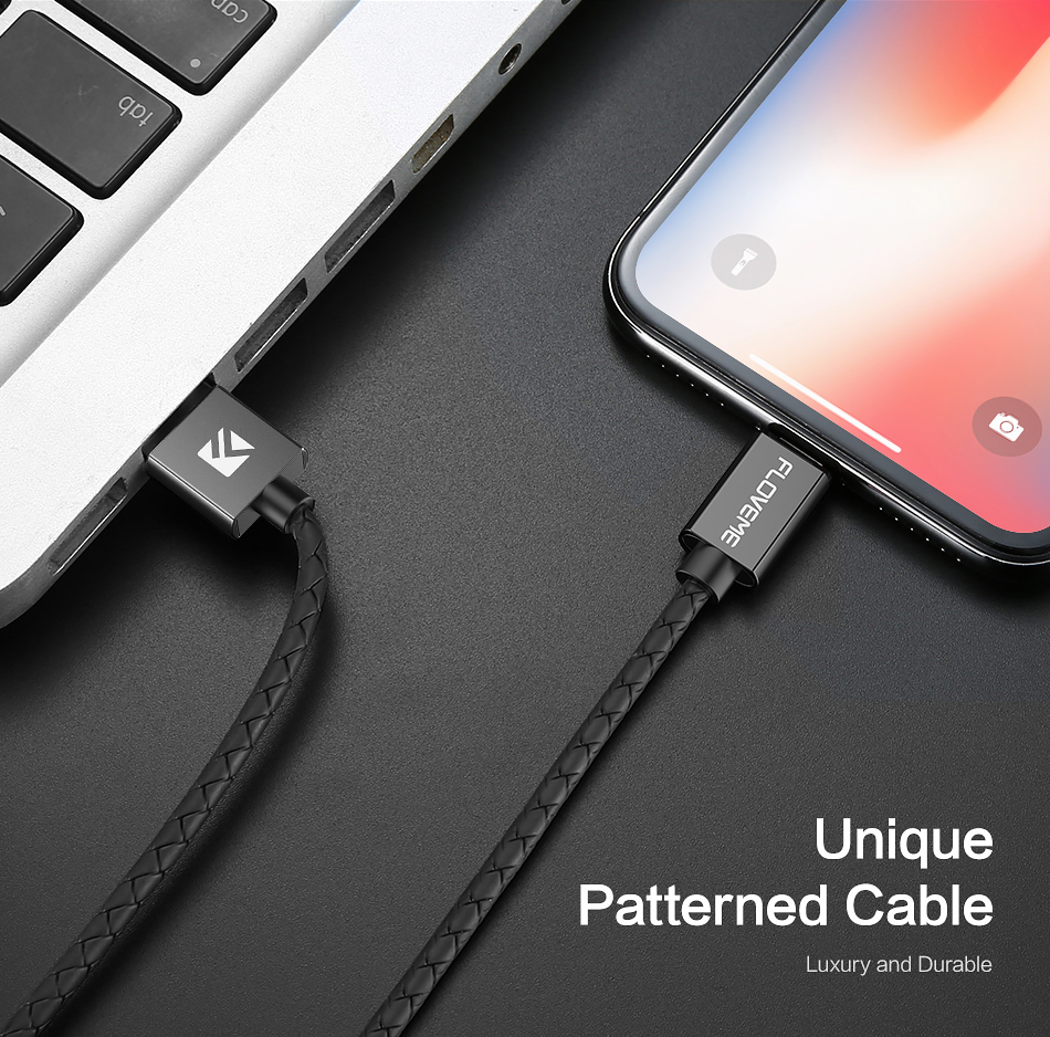 FLOVEME 3A LED Magnetic Type C Fast Charging Data Cable 1M For Oneplus 6 Xiaomi Mi 8 A2 Pocophone F1