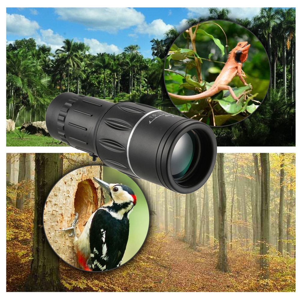 16X52 High-Definition Wide Angle Light Night Vision All-Optical Focus Monocular Telescope