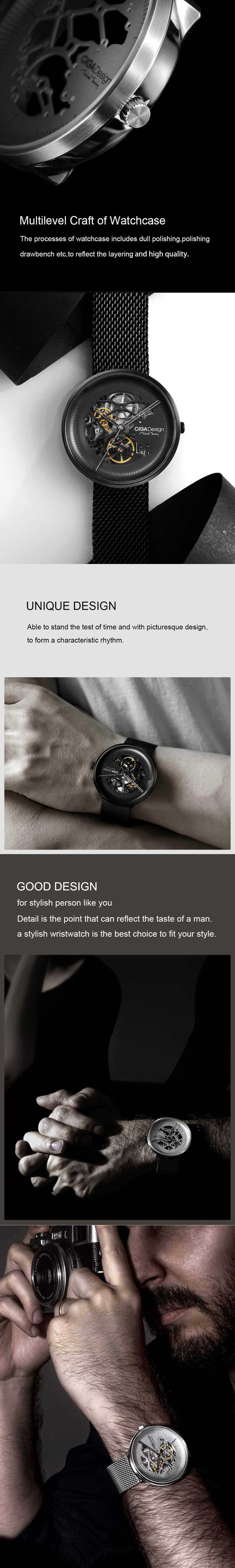 XIAOMI CIGA Design MY Series Automatic Mechanical Watch