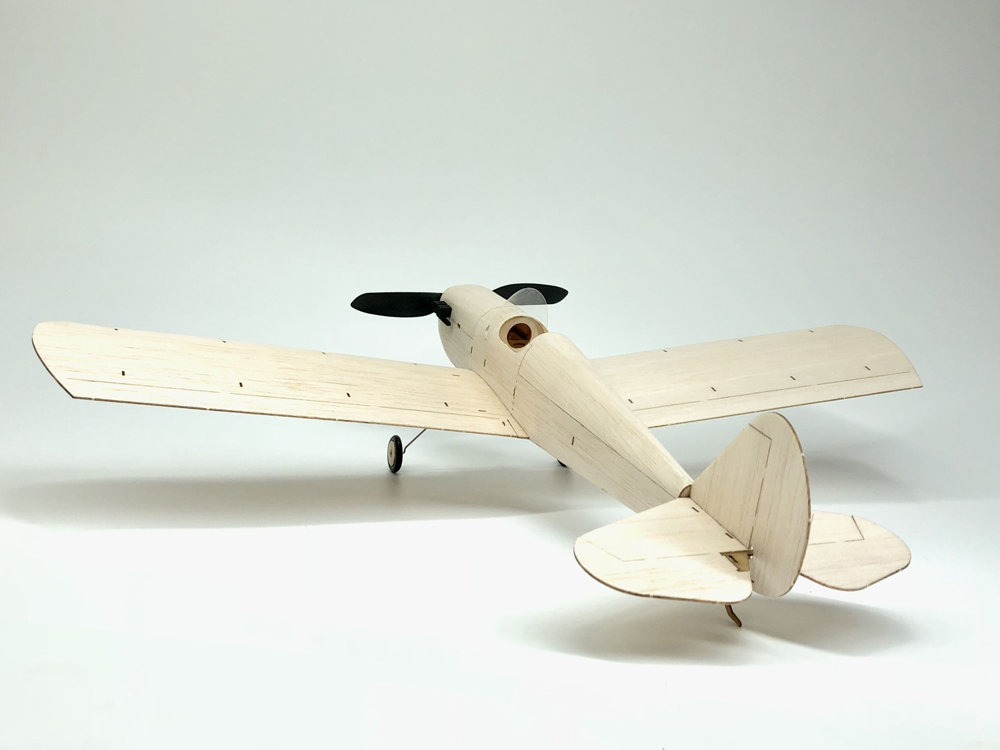 MinimumRC Spacewalker V2 460mm Wingspan Balsa Wood Laser Cut RC Airplane