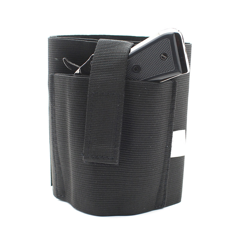 Ankle Boot Gun Holster For Men Women Concealed Carry Elastic Secure Strap Gun Holsters Accessories