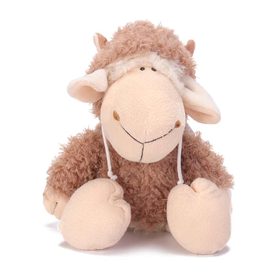 14 Inch Dolly Sheep Stuffed Animal Plush Toys Doll for Kids Baby Christmas Birthday Gifts