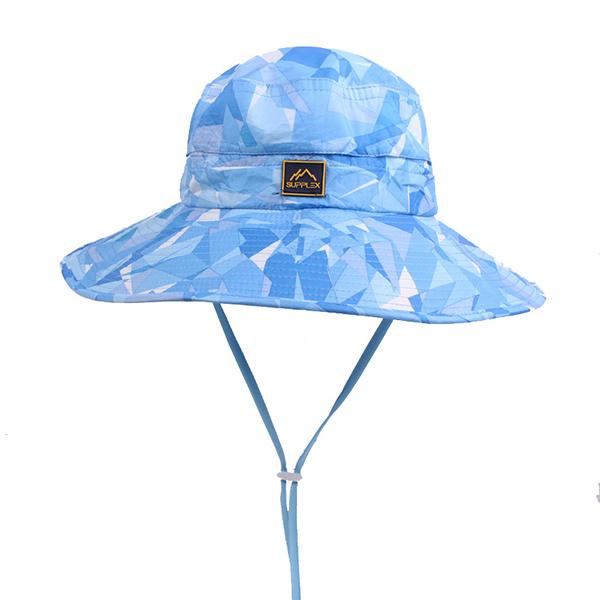 Men Women Summer Wide Brim Anti-UV Sun Hat Casual Outdoor Sunscreen Bucket Hat