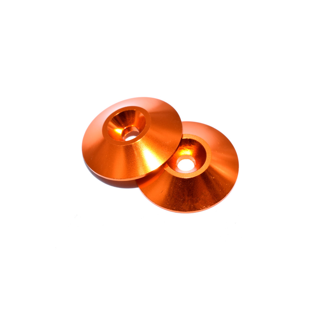 10 PCS AuroraRC M3 Countersunk Screw Conical Grommet Gasket Washer for RC FPV Racing Drone - Photo: 3