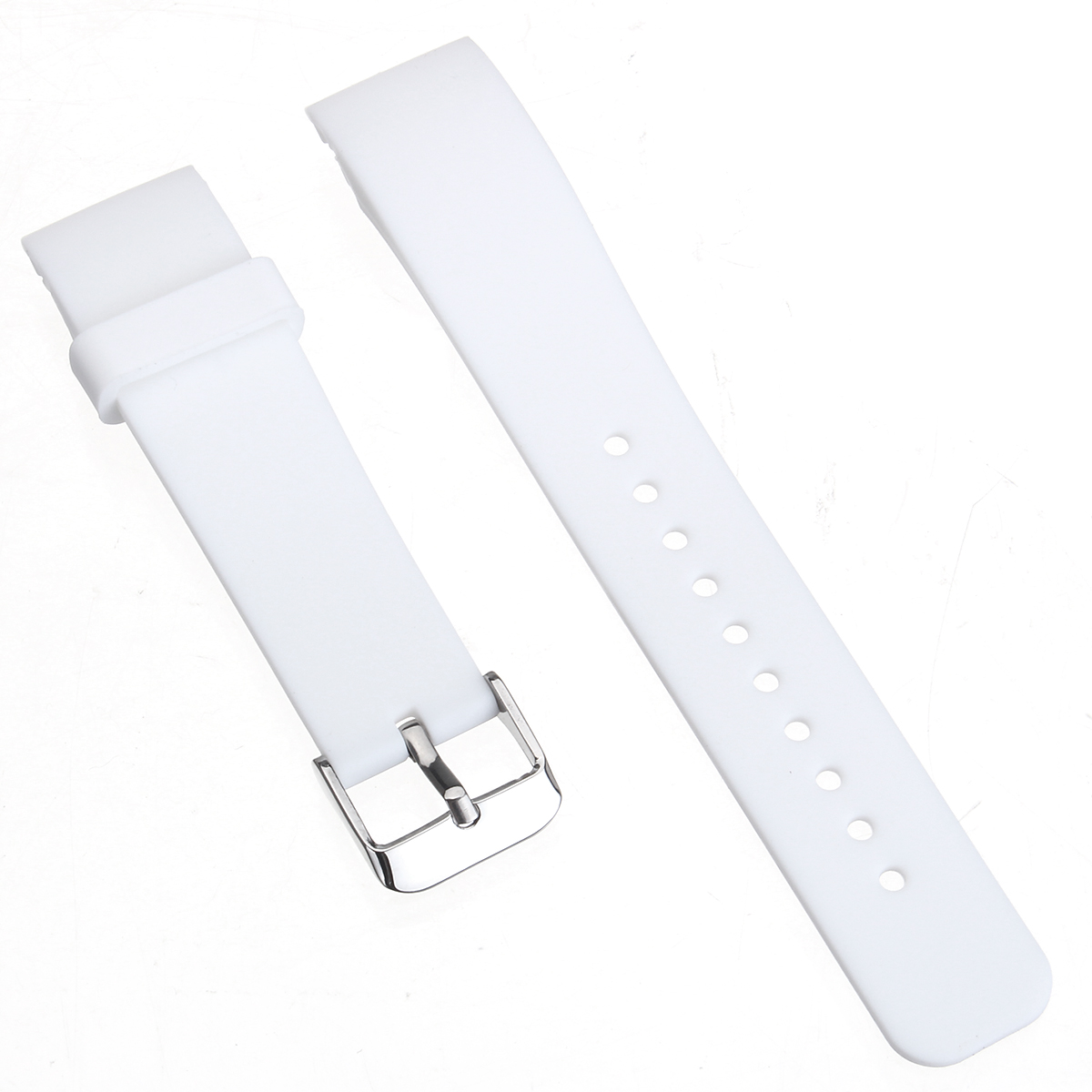 Silicone Smart Watch Band Solid Color Wrist Strap for Samsung Galaxy Gear S2 Classic SM-R732