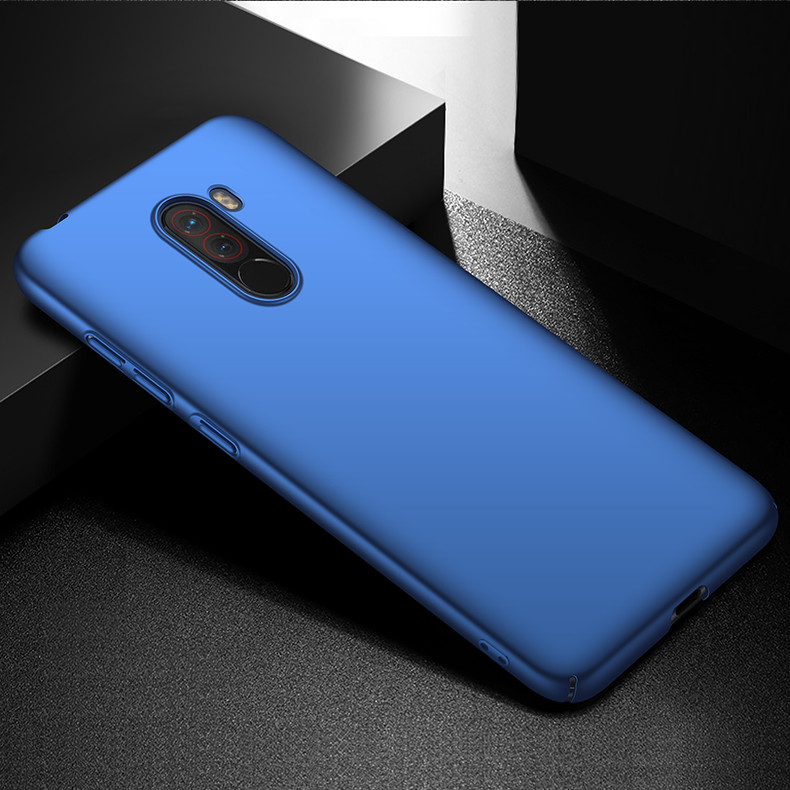 Bakeey Ultra-Thin Matte Hard PC Anti-Fingerprint Protective Case For Xiaomi Pocophone F1