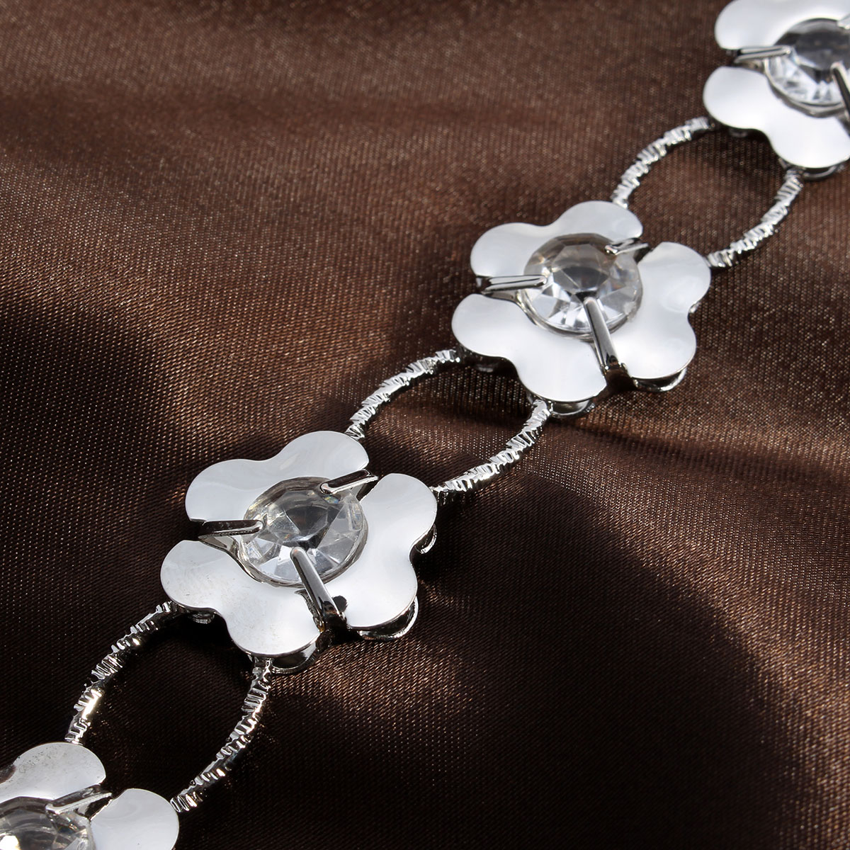 Flower Lady Waist Chain Women Silver Belt Necklace Body Jewelry