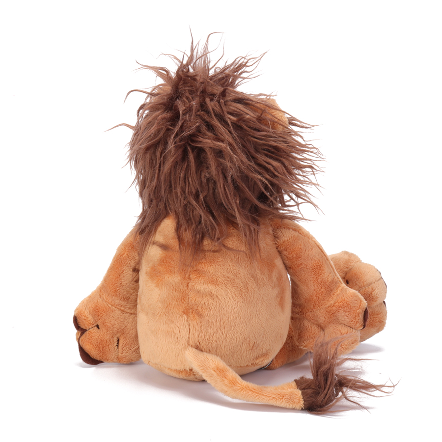 14 Inch Lion Stuffed Animal Plush Toys Doll for Kids Baby Christmas Birthday Gifts
