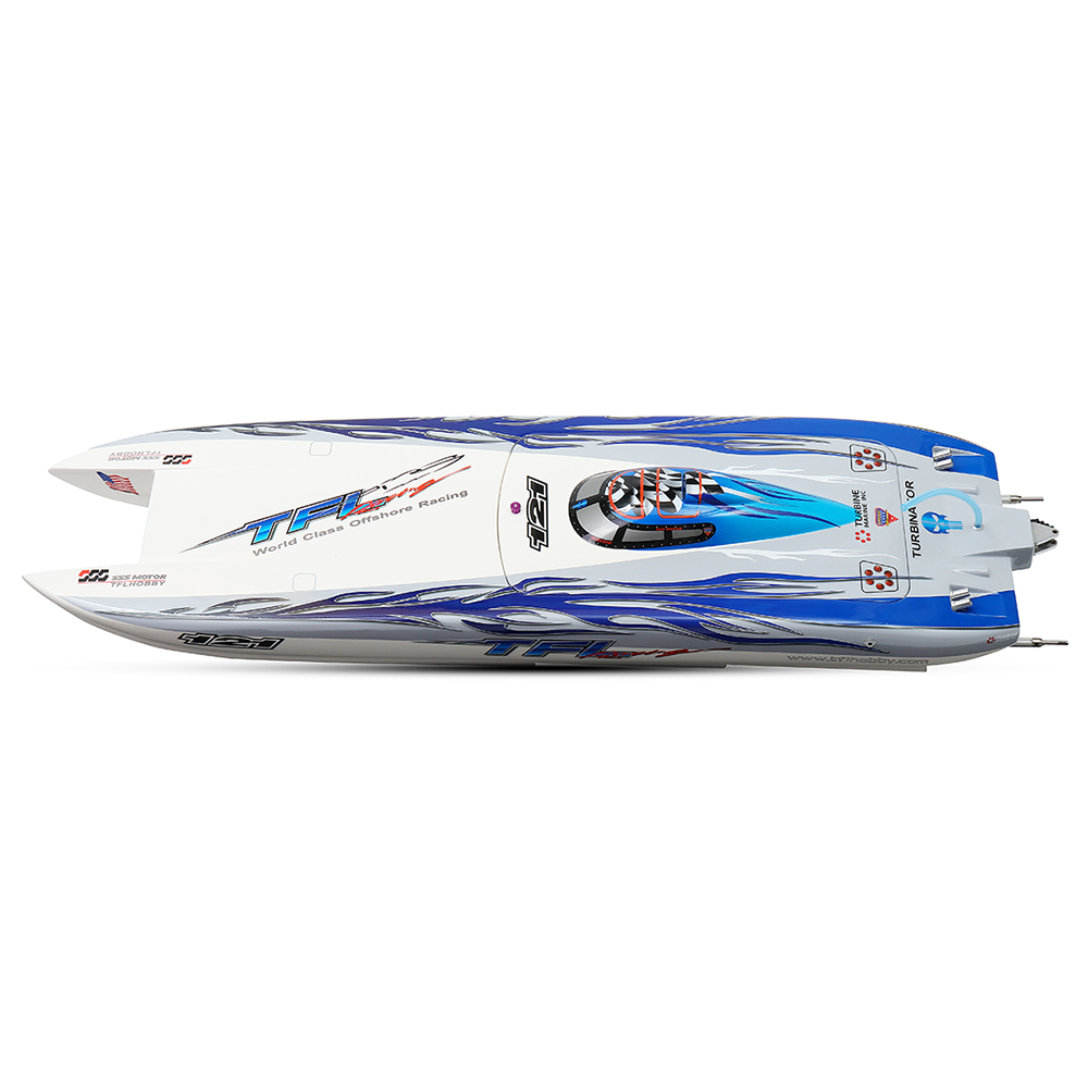 TFL 1133 1040mm Zonda 2.4G Rc Boat W/ Double Motor Without Battery Servo Transmitter Charger