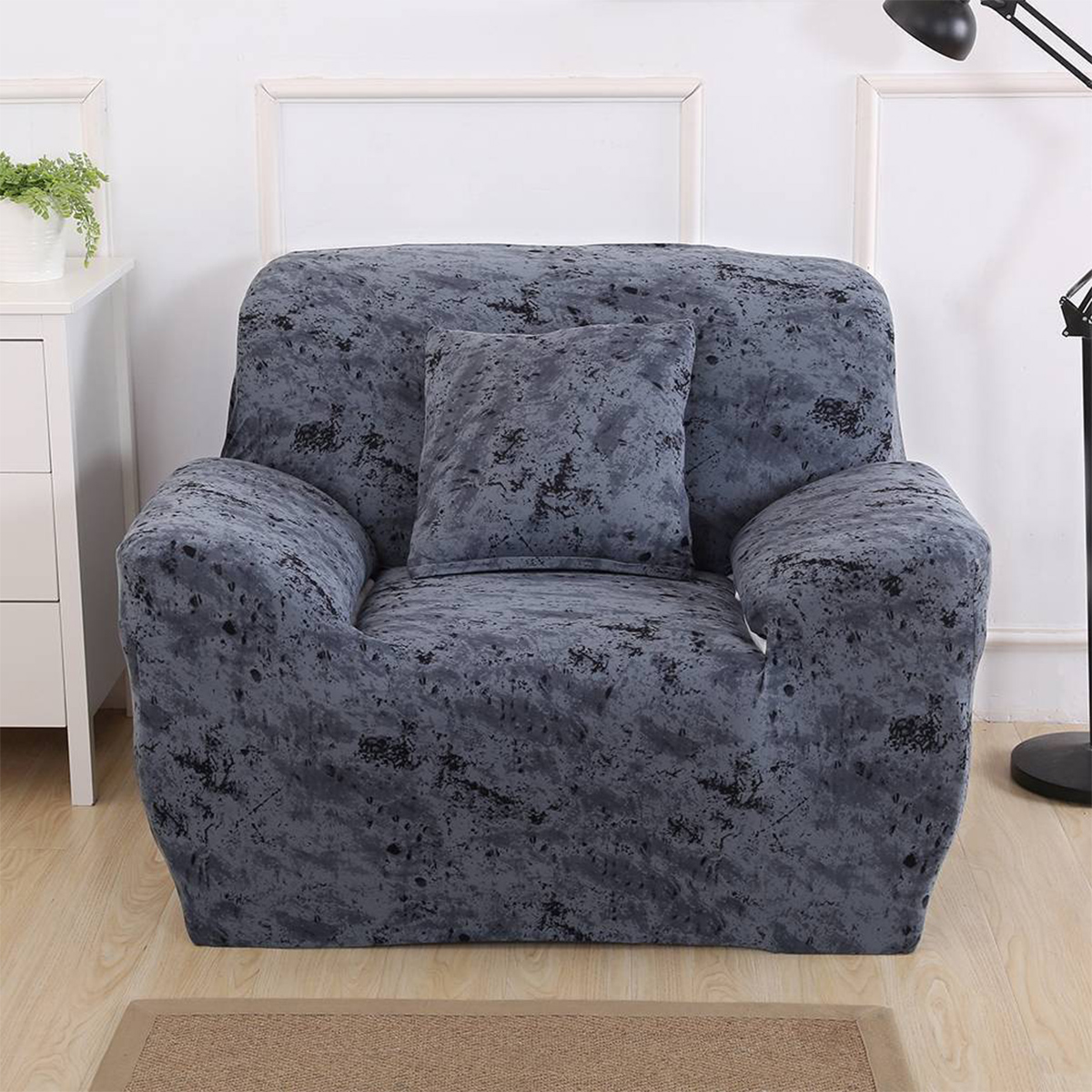 EASY Stretch Couch Sofa Lounge Covers Recliner 3 Seater Dining Chair Covers