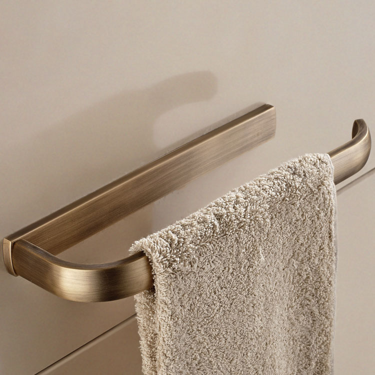 KCASA KC-BR544 Bronze Towel Rack Wall Mounted Towel Holder Rust Protection For Bathroom Accessories