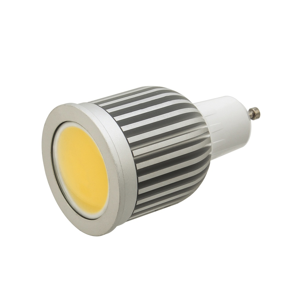 3W 5W 7W GU10 LED COB Spotlight Bulb Indoor Home Lamp Decoration AC85-265V
