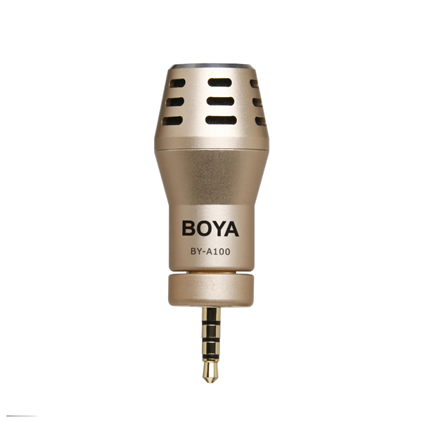 BOYA BY-A100 Omni Directional Condenser Audio Recorder Microphone for iPhone iPad iPod