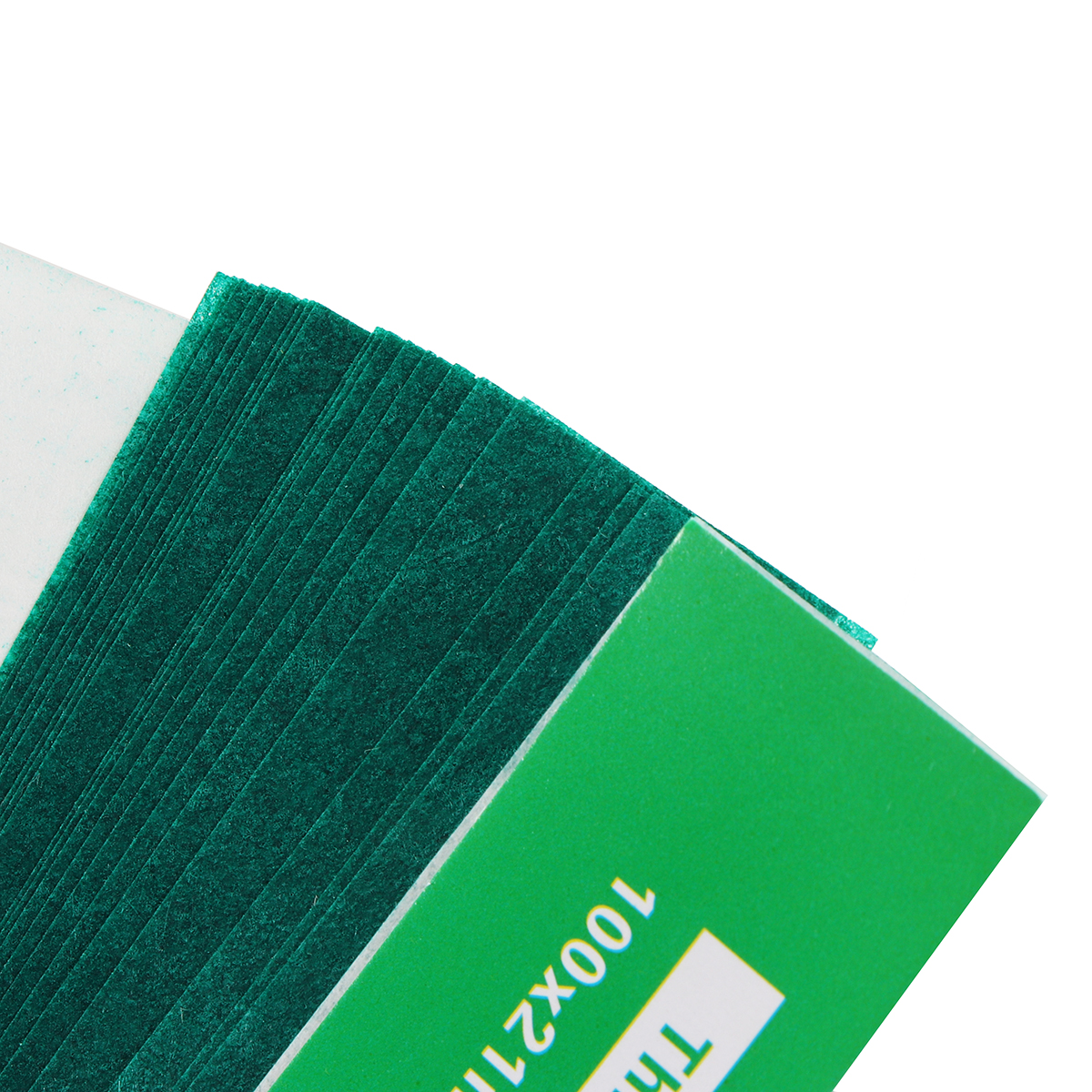 200 Sheet Dental Tools Articulating Paper Thick Green Strips Oral Care Material Dentist Lab