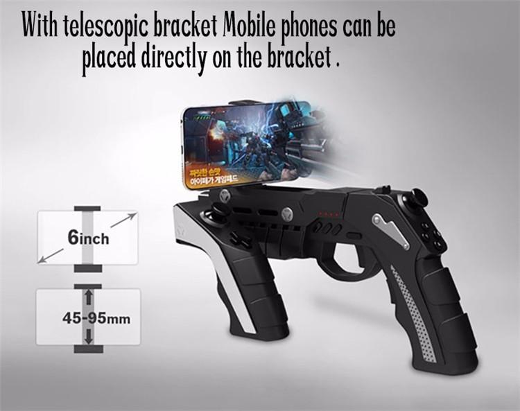 iPEGA PG-9057 Game Controller Gun Style Wireless bluetooth Game Gamepad Joystick for Android iOS