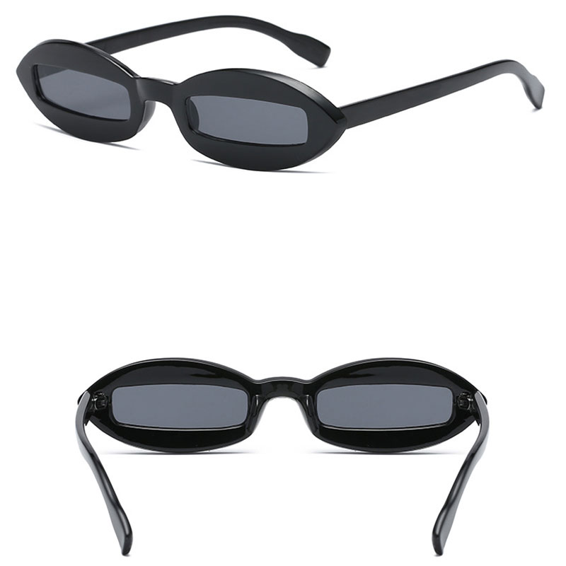 UV400 Vintage Sunglasses Men and Women Trendy Personality Outdoor Unisex Plastic Frame