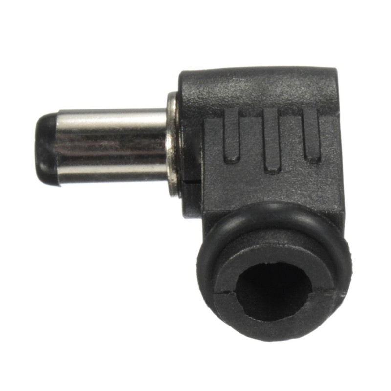 2.5x5.5mm Right Angle L 90° Male Plug Jack DC Power Tip Socket Connector Adapter