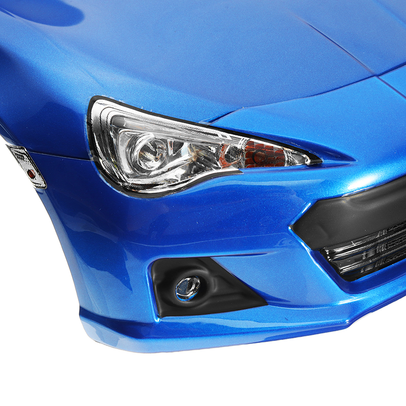 Killerbody Car Shell 48576 Subaru BRZ Metallic-blue Printed For 1/10 Electric Touring RC Car Parts