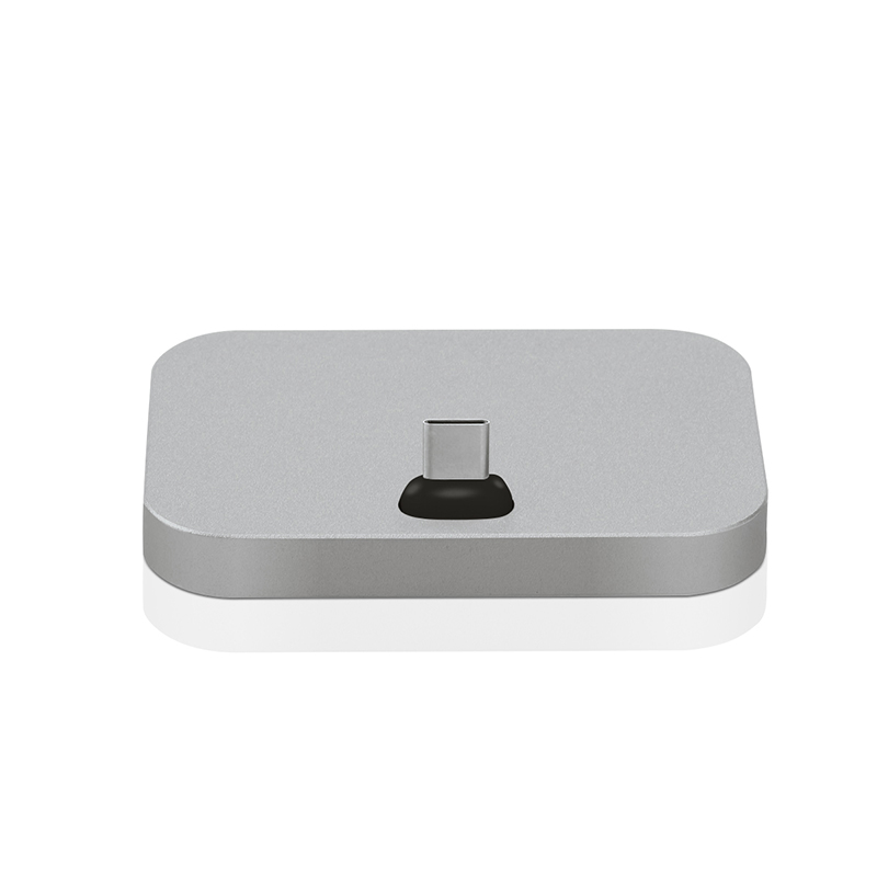 Micro USB to USB3.1 Type C Aluminum Alloy Dock Station Charging Base for Xiaomi Samsung Letv