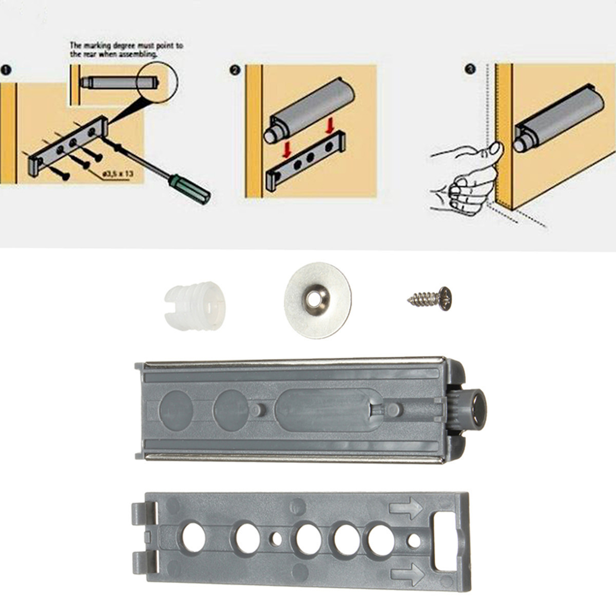 Other Gadgets Cabinet Push Open Catch Touch Latch