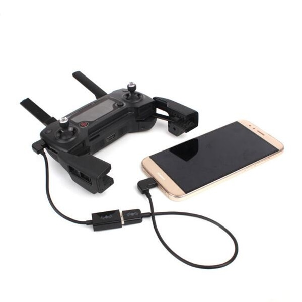 Transmitter Data Converting External Connected USB Cable Smartphone Tablets for DJI Spark Mavic Pro
