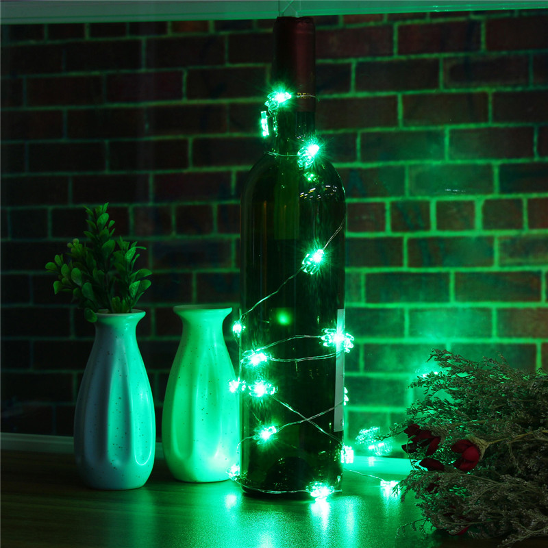2.3M 20LEDs Cactus Green Fairy String Light Indoor Outdoor For Wedding Christmas Party