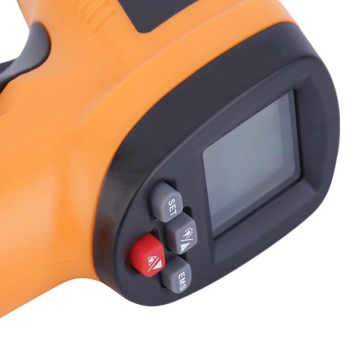 GM550E Digital IR Non Contact Laser LCD Infrared Thermometer Temperature Meter Gun -50~550℃/ -58~1022℉