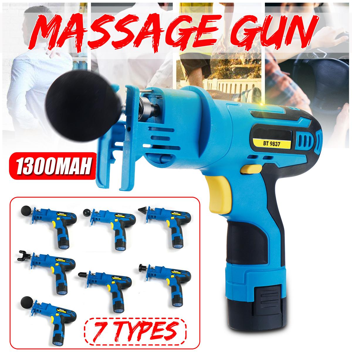 1300mAh Percussion Massage Therapy Vibrating Deep Tissue