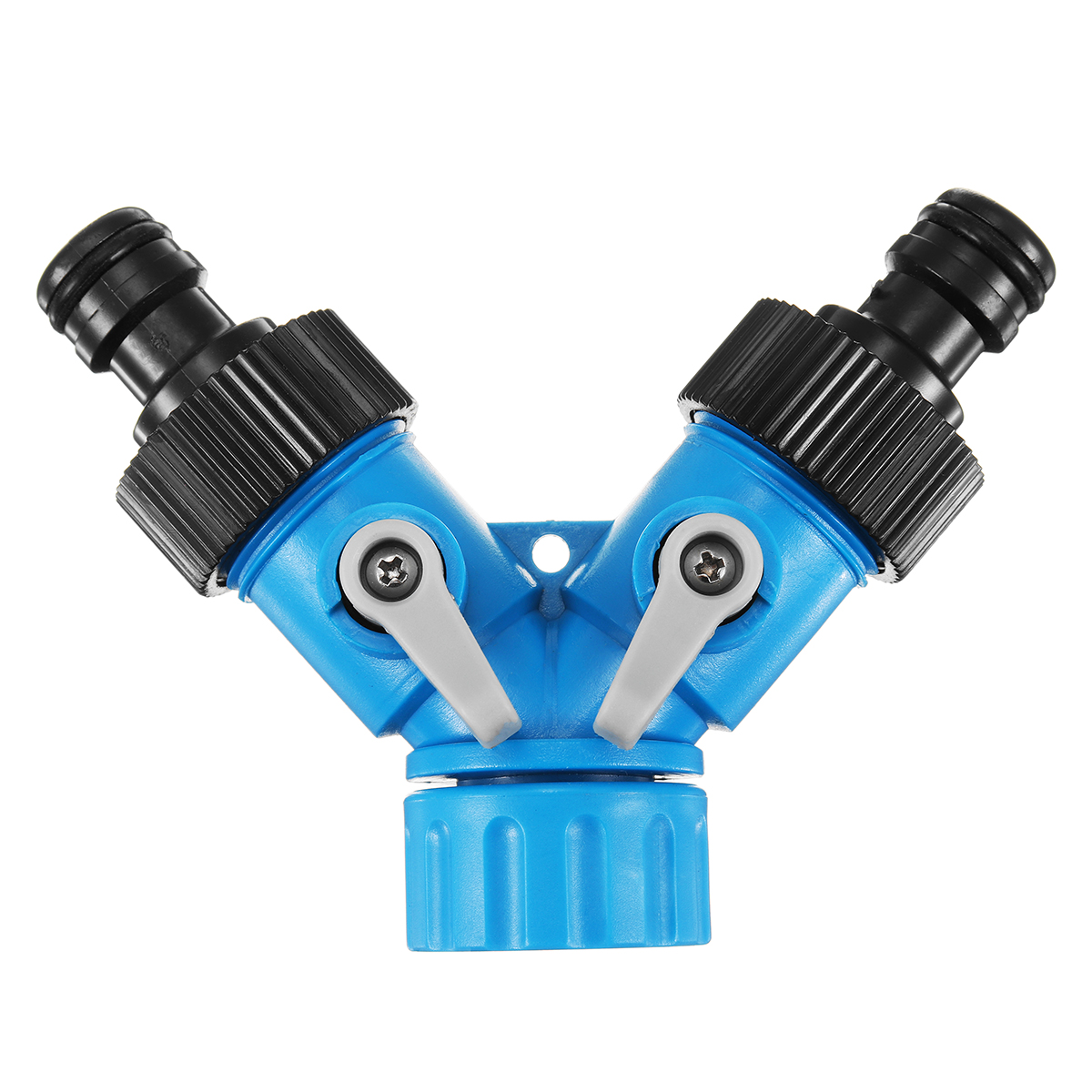 3/4 Inch Two Way Y Hose Pipe Garden Splitter Tap Connector Water Hose Pipe Connectors
