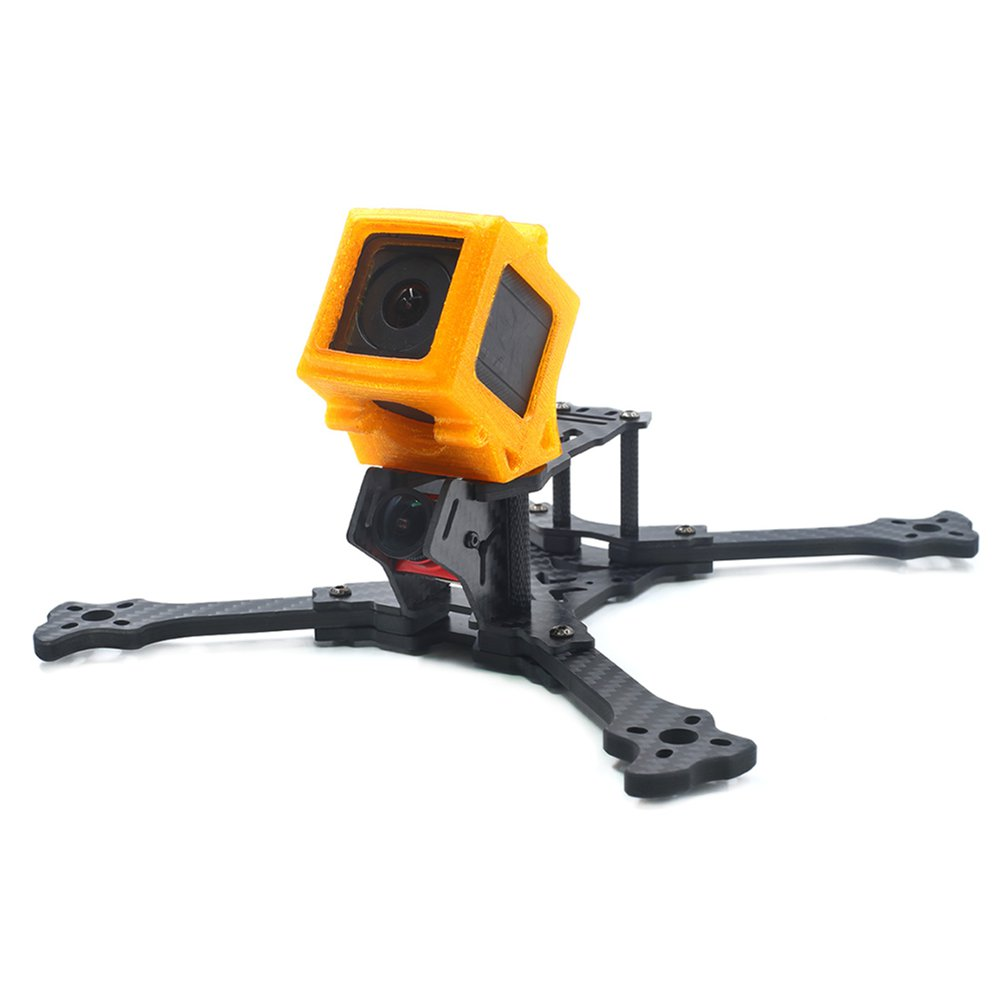 1PC GEPRC 3D Printed TPU Action Camera Protective Case Shock Absorption For GEP-OX-X5 Frame Kit - Photo: 5