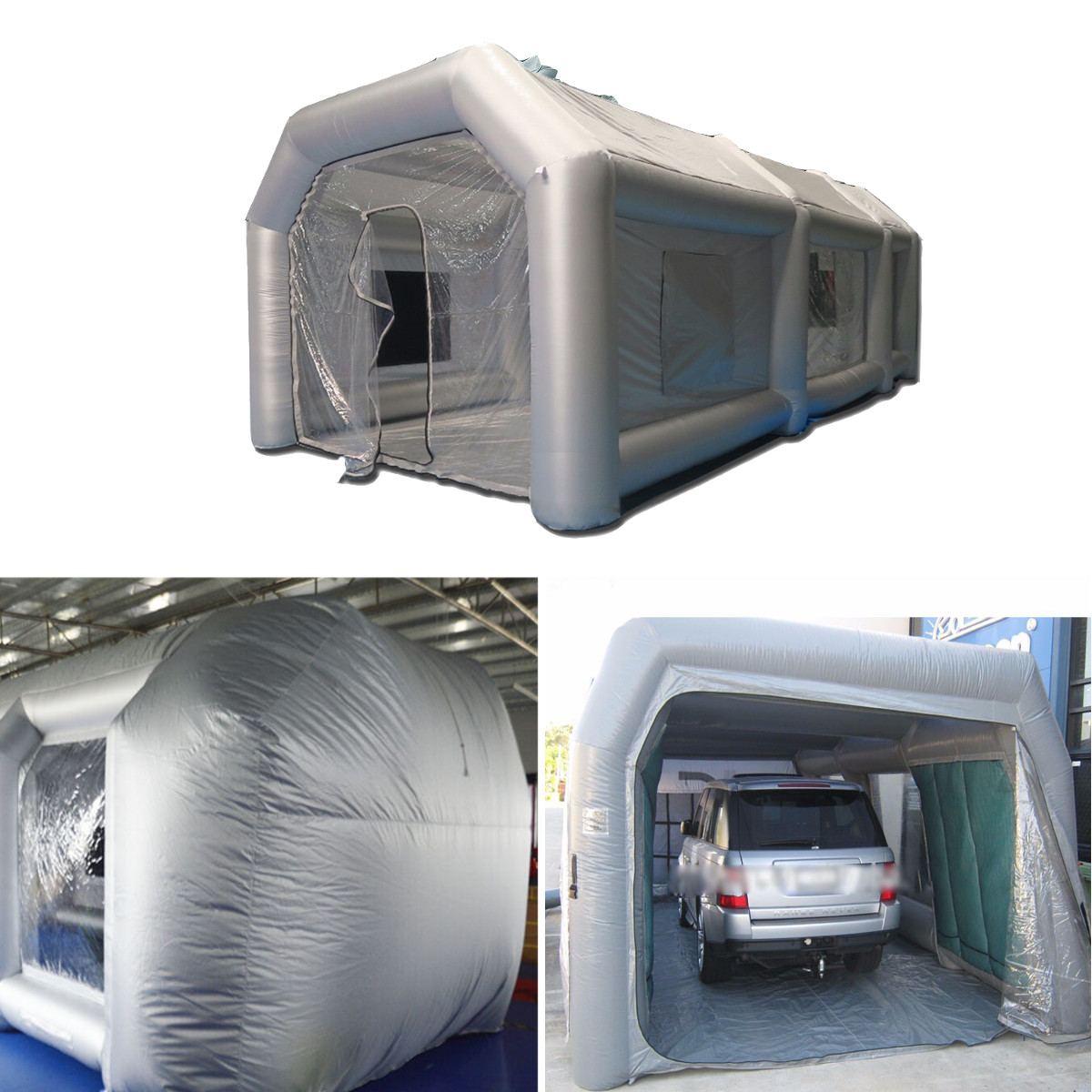 Portable Giant Oxford Cloth Inflatable Tent Workstation