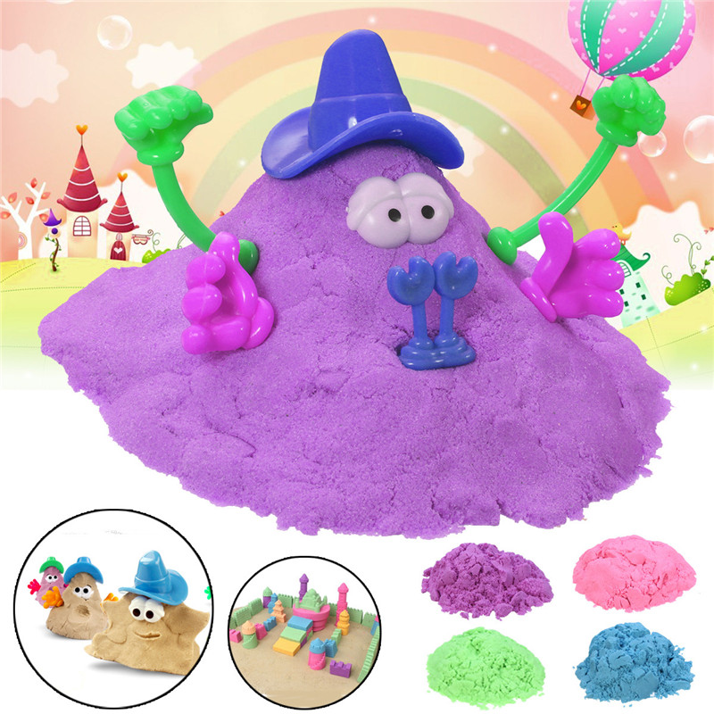 Magic Children DIY Space Sand Kids Play Handmade Colorful Mud Toys Pottery Clay