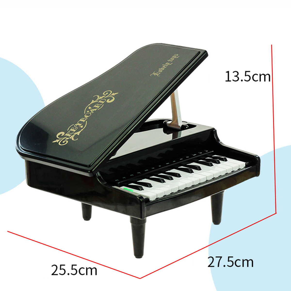 Electric Piano Toy Developmeatal Musical Instruments House Play Percussion Learning